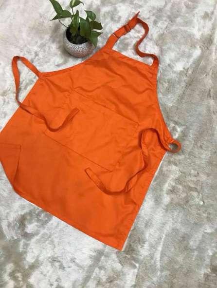 Tạp dề màu cam