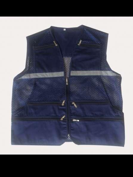 Áo bảo hộ chất lưới màu xanh