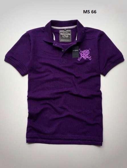 Đồng phục áo thun cổ trụ màu tím