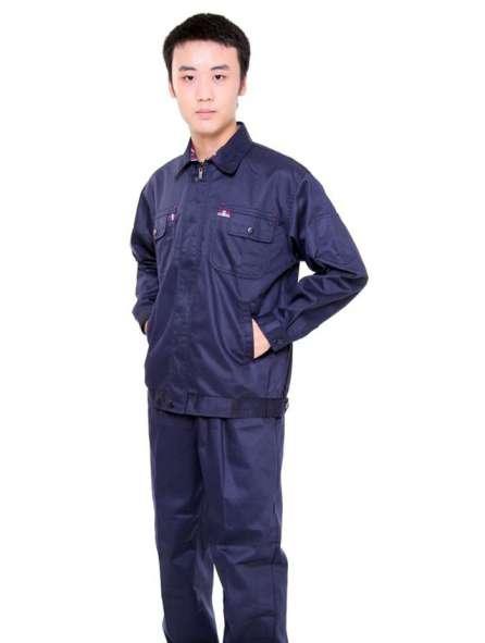 Đồng phục bảo hộ tay dài màu xanh đen