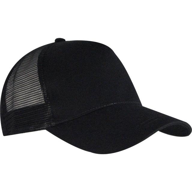 Nón kết đồng phục màu đen chất lưới