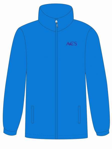 Áo khoác đồng phục màu xanh dương