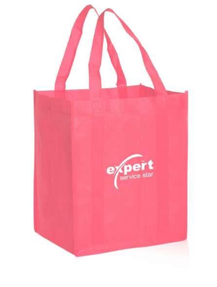 Túi vải không dệt màu hồng